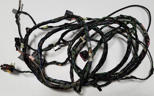 1997 1998 Lincoln Mark VIII Audio CD Changer Wire Harness with cut F8LB-19B113-CA