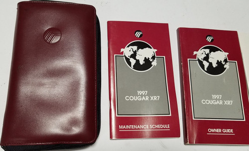 1997 Cougar XR7 Owners Manual Collection