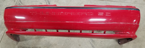 1989-1993 Thunderbird SC Rear Bumper Cover Red Grade A
