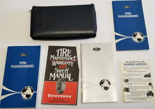 1996 Thunderbird Owners Manual Set