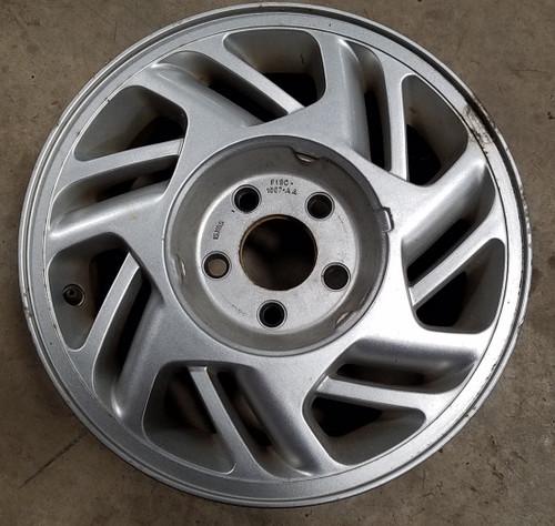 """1989 90 91 92 93 94 95 96 1997 Thunderbird 15"""" Wheel  Silver Color Grade B"""