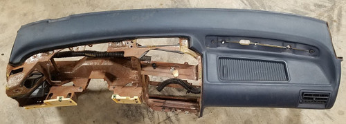 Blue Dash Console Pad 1989 1990 1991 1992 1993 Thunderbird Cougar Grade A