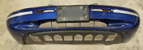 1996 1997 Mercury Cougar Front Bumper Cover  Blue