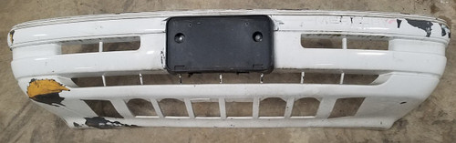 1989-1990 Cougar XR7 Front Bumper Cover White Grade B