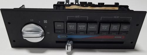 Climate Control Analog Chrome Knob 1989 1990 1991 1992 1993 Thunderbird Cougar