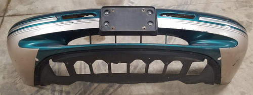 1996 1997 Mercury Cougar Front Bumper Cover Special Edition Green
