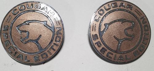 1992-1996 Mercury Cougar Exterior Special Edition Emblem Set