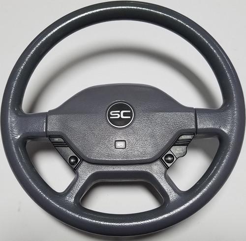 Steering Wheel Complete Gray 1989 1990 1991 1992 1993 Thunderbird SC Super Coupe