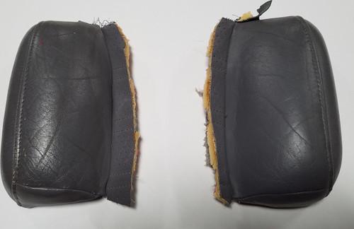 Bolster Wrap Gray Leather Set 1992-1995 Thunderbird SC