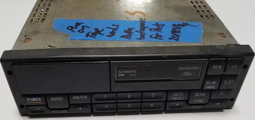Premium Sound Radio Tape Player 1994-1997 Thunderbird Cougar F3DF-19B165-CF