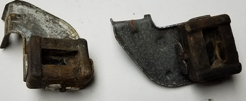 1993-1998 Lincoln Mark VIII AC Condenser Upper Mounting Bracket Set 4.6L