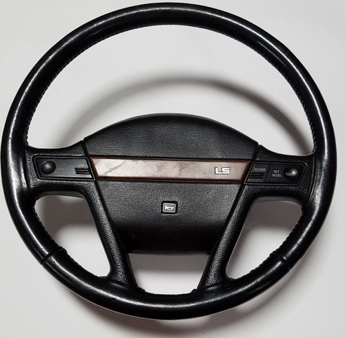 1989-1991 Mercury Cougar Steering Wheel LS Black