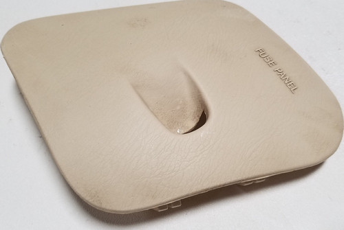1997-1998 lincoln mark viii fuse box cover ivory