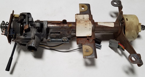 Steering Column with Key Removal Button with Key Switch 1989-1993 Thunderbird Cougar