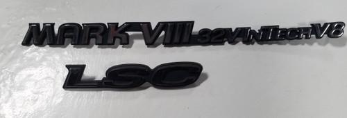 1993 1994 1995 1996 Lincoln Mark VIII LSC Trunk Emblem Set 32V InTech V8
