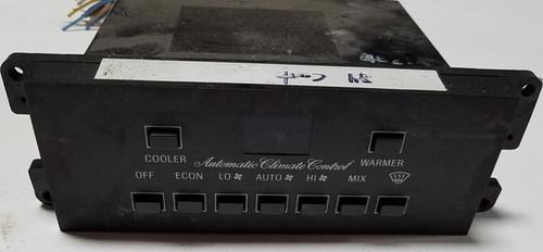 1984-85 Lincoln Continental Mark VII Automatic Climate Control AC E4LH-18C612-AD