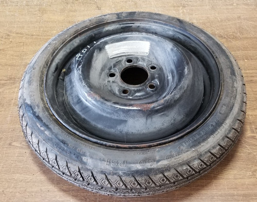 1984-1992 Lincoln Mark VII Compact Spare Mini Donut With Tire T125/70D16