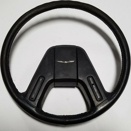 1985-1986 FORD THUNDERBIRD STEERING WHEEL & HORN BUTTON CRUISE CONTROLS