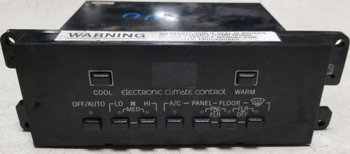 1986 87 88 1989 Lincoln Mark 7 VII Electronic Climate Control HVAC Controller