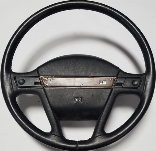 1989-1991 Mercury Cougar Steering Wheel LS Black Grade B
