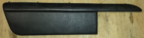 Door Panel Insert - Driver - Black Leather - 1989 - 1993 Thunderbird and Cougar - WWW.TBSCSHOP.COM