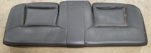 1997-1998 Lincoln Mark VIII Rear Seat Bottom Black Leather