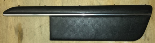 Door Panel Insert - Passenger - Black Leather - 1989 - 1993 Thunderbird and Cougar - WWW.TBSCSHOP.COM