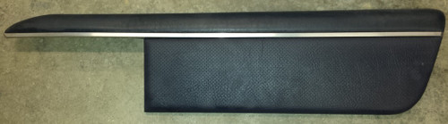 Door Panel Insert - Passenger - Blue Leather - 1989 - 1993 Thunderbird and Cougar - WWW.TBSCSHOP.COM