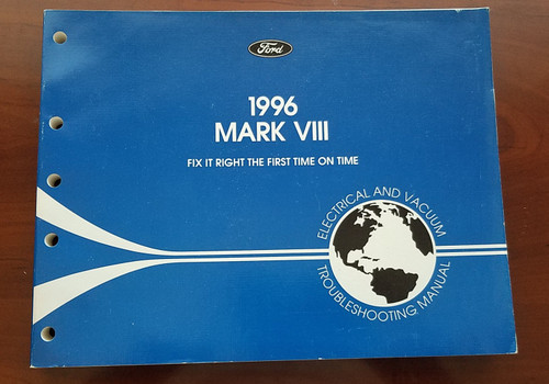 1996 Lincoln Mark VIII Electrical Vacuum Manual EVTM FPS-12120-96