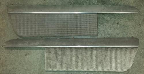 Door Panel Insert - Set - Gray Cloth - 1989 - 1993 Thunderbird and Cougar - WWW.TBSCSHOP.COM