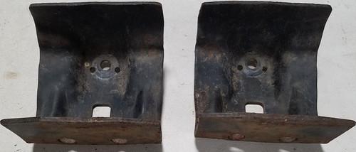 1984-1992 Lincoln Mark VII Fog Light Bracket Set