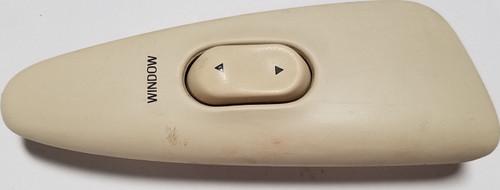 1993 1994 1995 1996 Lincoln Mark VIII Door Window Switch Holder RH Ivory