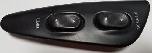 1993 1994 1995 1996 Lincoln Mark VIII Door Window Switch Holder Black LH Driver Side