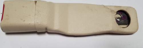 1993-1998 Lincoln Mark VIII Seat Belt Clip Ivory RH Passenger Side