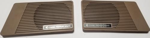 1984-1992 LINCOLN MARK VII Door Panel Speaker Grille Cover Premium Sound Tan
