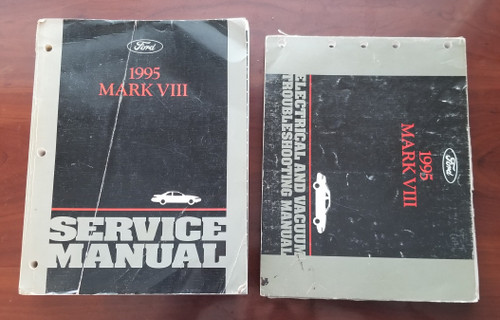 1995 Lincoln Mark VIII Electrical Vacuum & Service Manual Set FPS-12192-95