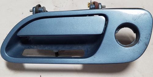 93-94 MARK VIII 93-94 CONTINENTAL LH Driver SIde DOOR HANDLE Blue