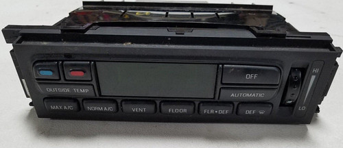 1995-1997 Lincoln Continental Auto Climate Control Temperature Heat AC Rear Defrost