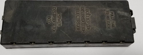 1997 Lincoln Continental FUSE RELAY BOX COVER w/ DIRECTORY OEM F57B-14A003-BC