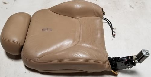 1997-1998 Lincoln Mark VIII Seat Back Light Prairie Tan RH Passenger Side Grade B