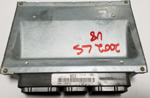 2002 LINCOLN LS 2W4A-12A650-DD ECU ENGINE COMPUTER V8 3.9L COMPUTER MODULE ECM