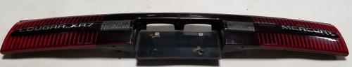 1991 1992 1993 Cougar XR7 Trunk Reflector Complete Unit Grade C