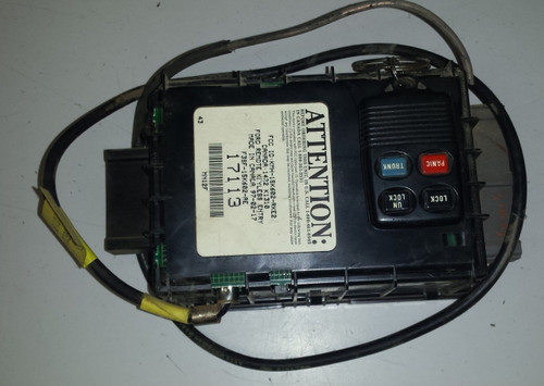 Keyless Entry Computer with Fob and Antenna - 1993 - 1997 Thunderbird and Cougar - WWW.TBSCSHOP.COM