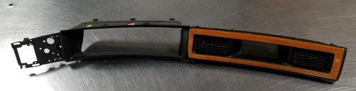 1993 1994 1995 1996 Lincoln Mark VIII Dash Instrument Bezel Black Wood Accent