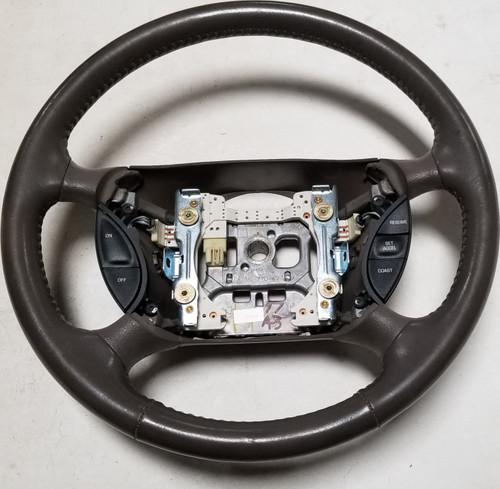 Steering Wheel Prairie Tan 1997 Thunderbird Cougar Grade A F4WC-3F563-AEW