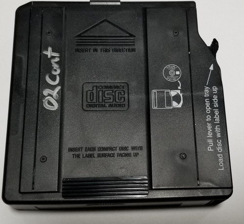 1998-2002 Lincoln Continental Alpine 6 Disc CD Changer Cartridge YL1F-18C833-AB