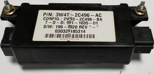 2003-2006 LINCOLN LS PARKING CONTROL MODULE 3W4T-2C496-AC