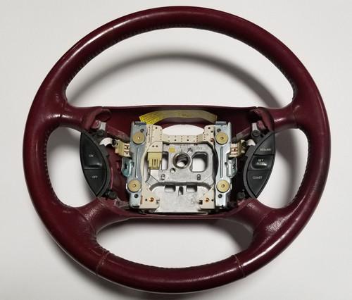 Steering Wheel Red 1994 1995 1996 1997 Thunderbird Cougar Grade B