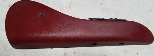 1984-1992 LINCOLN MARK VII Front Seat Finishing Panel Red RH Passenger Side