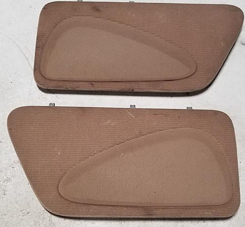 Rear Speaker Cover Set Prairie Tan 1994-1996 Thunderbird Cougar Grade B
